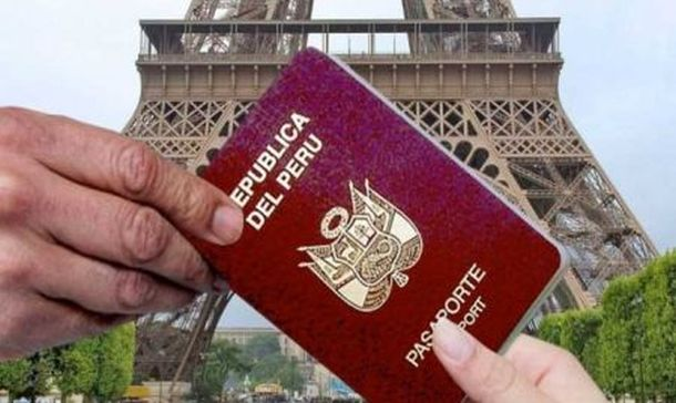 PASAPORTES DE PERUANOS PARA  VIAJAR A  EUROPA SIN VISA